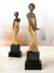 Emil Nolde: Tänzerin aus Java 1913/14. Skulptur Bronze vergoldet. Edition Nolde Stiftung Seebüll.
