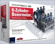 PORSCHE 6-Zylinder-Boxer-Motor Bausatz.