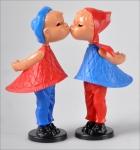 Magnetfiguren-Set: Kusspuppen und Ballerina.