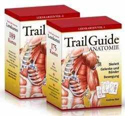 Trail Guide Lernkarten-Set Anatomie.