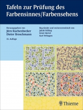 Tafeln zur Prüfung des Farbensinnes / Farbensehens.