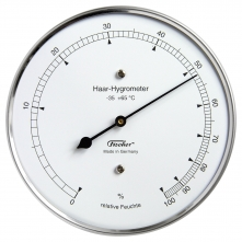 Echthaar-Hygrometer. Made in Germany seit 1949