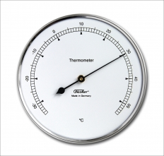 FISCHER Thermometer. Made in Germany.