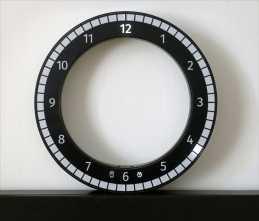 Only Clock. Kibardin Design.