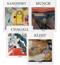 Kunst-Paket: Munch, Kandinsky, Chagall & Klimt