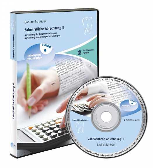 fachb cher software und dvds zahn rztliche abrechnung ii medienservice medizin. Black Bedroom Furniture Sets. Home Design Ideas