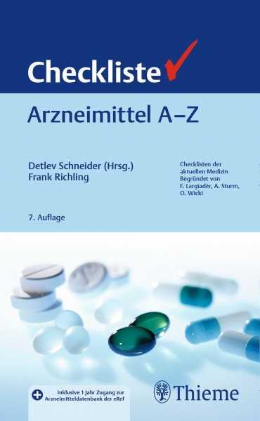 Checkliste Arzneimittel A - Z.