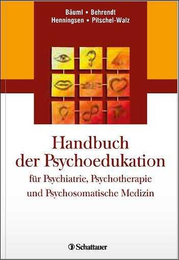 Handbuch der Psychoedukation.