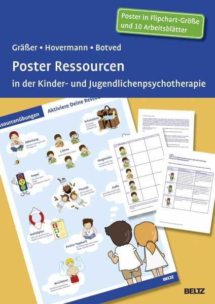 Poster Ressourcen in der Kinder- und Jugendlichenpsychotherapie.